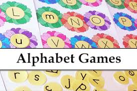 Preschool Alphabet Printable Games