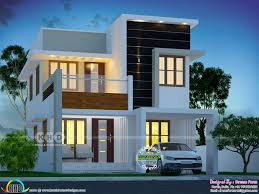 100 Designs Of Modern Houses 1480 Square Feet 3 Bedroom Cute Home Design New House Design