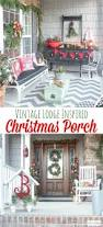 Outdoor Christmas Decorating Ideas Front Porch by 25 Unique Front Porch Ideas For Christmas Ideas On Pinterest