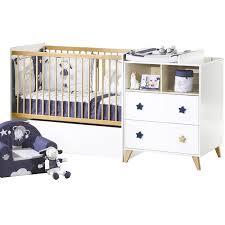chambre bébé modulable lit bébé évolutif oslo transformable en lit combiné avec