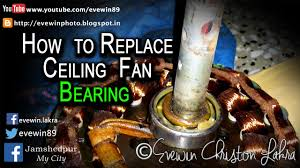 Ceiling Fan Squeaking Sound by Evewin Lakra How To Replace Ceiling Fan Bearing In Under