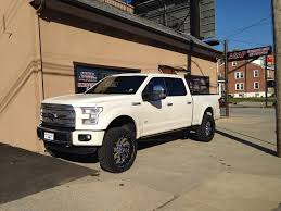 2015 Ford F150 Platinum - Automotive Sound And Protection