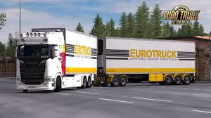 100 What Is A Tandem Truck BDF Pack V990 132x ETS2 Mods Euro Truck