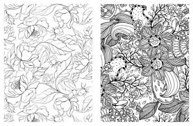 Alternative View 4 Of Posh Coloring Book Pretty Designs For Fun Relaxation