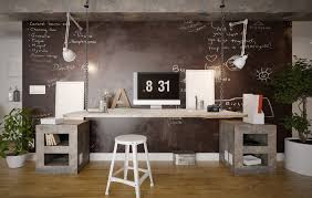 Rustic And Industrial Home Office Treatment Appearances Approach Exceptional Modern