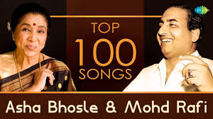 Top 100 songs of Asha Bhosle & Mohd Rafi