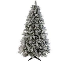 Pre Lit Slim Christmas Trees Argos by Buy Pre Lit Snow Tipped Pencil Christmas Tree 6ft At Argos Co Uk