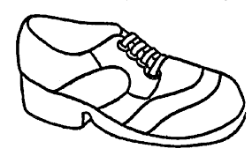 Sneaker Coloring Book Download Kids Sneakers Page Free Clip Art Image 21147