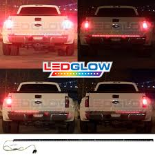 100 Running Lights For Trucks NEW LEDGLOW 49 RED LED TAILGATE LIGHT BAR TRUCK BED VAN RUNNING