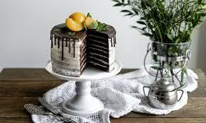 layer cake mit vanillecreme