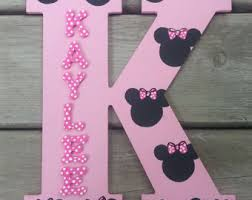 Minnie Mouse Bedroom Accessories Ireland by Minnie Mouse Letters Etsy