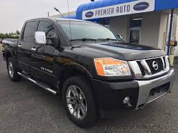2013 Used Nissan Titan 4WD Crew Cab SWB SL At Premier Auto Serving ...