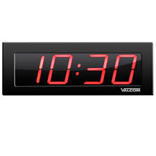 4 Digit Digital Wall Clocks