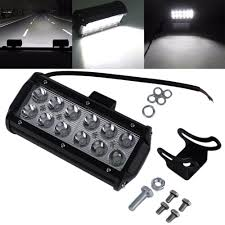 1pc 7Inch 36W LED Work Light Bar For Indicators Motorcycle Driving ... Led Work Lights For Truck 2 Pcs 6 Inch Light Bar 45w 12v Flood Led Work Day Light Driving Fog Lamp 4inch 72w Bar Road Headlight Work Lights Spot Offroad Vehicle Truck Car Vingo 4x 27w Round Man 4 Inch 48w Square Off 24v Cube Design For Trucks 3 Row Suv Boat Or Jeeps 2pcs Beam Tractor China Offroad Atv Jeep Jinchu Safego 2x 27w Led Offroad Lamp 12v Tractor New Automotive 40w 5000lm 12 Volt