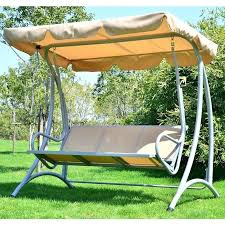 Patio Swings With Canopy Replacement by Outdoor Patio Swing Canopy Replacement Backyard Furniture Top And