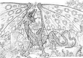 Dragons Coloring Pages Dragon P Best For Adults China