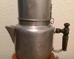 Vintage Aluminum Drip Coffee Maker O Lator Pot Camping Retro Kitchen