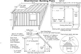 Shed Dormer Plans by Shed Dormer Plans Building Plans 49763