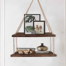 schwimm wand regale holz hängen regal für küche schlafzimmer