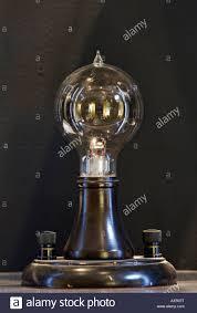 replica of edison s original incandescent l which he