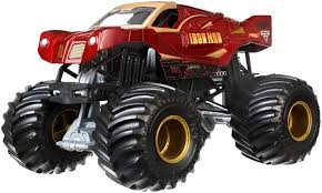 100 Monster Jam Toy Truck Videos Amazoncom Hot Wheels 124 DieCast Ironman Vehicle
