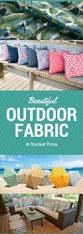 Outdoor Furniture Cushions Sunbrella Fabric by Best 25 Outdoor Fabric Ideas On Pinterest Outdoor Couch