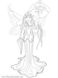 Intricate Fairy Colouring Pages Coloring Pagesfairy