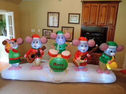 Gemmy Halloween Inflatables 2015 by Image Gemmy Inflatable Christmas Mouse Band Jpg Gemmy Wiki