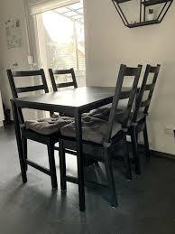 ikea tisch und stuhl esszimmer sitzgruppe
