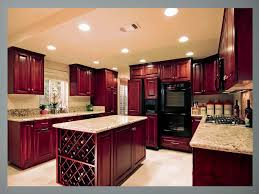 Kitchen Color Ideas With Cherry Cabinets Kitchen Colors With Cherry Cabinets And White Floor