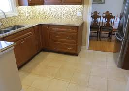 tiling kitchen floor without removing cabinets how to install