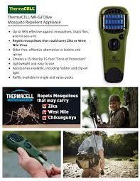 Thermacell Mosquito Repellent Patio Lantern Refills by Thermacell Mosquito Repellent Olive Appliance Mr Gj The Home Depot