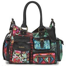 desigual medium ikara noir multicolore sacs sacs porté