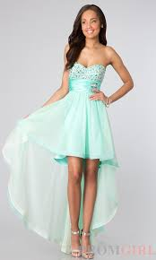 strapless high low dress for prom high low prom and homecoming