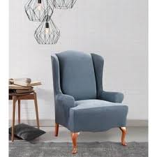 wing chair recliner slipcovers recliner covers wing chair slipcovers for less overstock