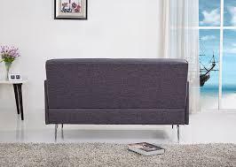 Buchannan Microfiber Sofa Assembly by Amazon Com Us Pride Furniture Emma Fabric Modern Loveseat Grey
