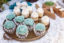 Mexican Wedding Cake Cupcakes Rustic Inspiration Equally Wed Lgbtq Weddings