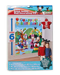 Mickey Mouse Bathroom Accessories Walmart by Amazon Com 5 Piece Set Mickey Scene Setter Multicolored Toys