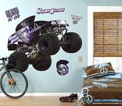 100 Monster Truck Decals Jam Mohawk Warrior Giant Wall Decal 887814066978 EBay