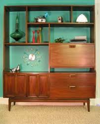 Upcycled Mid Century Display Cabinet
