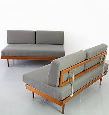 Retro Danish Modern Daybed Sofa Mid Century Modern Daybed Objects