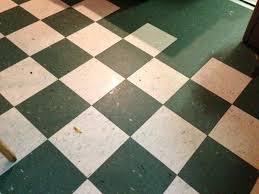 Patterned Linoleum Flooring Tile Floor