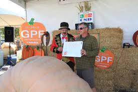 Largest Pumpkin Contest Winners by Giant Pumpkin Fest A Chat With The U002716 Pumpkin Champ News