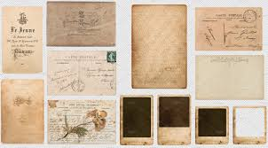 PNG Vintage Old Papers Transparent Graphic Objects Creative Market