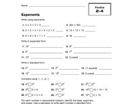 Algebra Tiles Worksheet 6th Grade by Exponents Teachervision