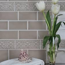 ceramic sand 3 x 6 adex hton crackle flat wall tile adex