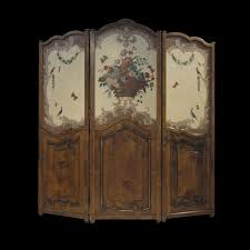 Hand Made French Country Folding Screen Room Divider By