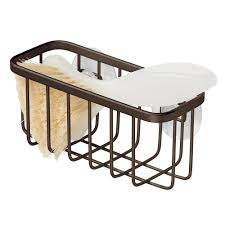 kitchen sink caddy organizers stainless steel or plastic