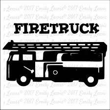 Firetruck SVG - Firetruck Svgs - Firetruck Cut File - Firetruck SVG ...