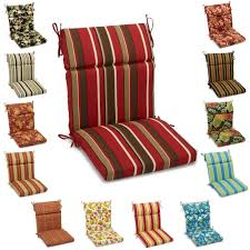 Blazing Needles 3-Section Indoor/Outdoor Chair Cushion - 38